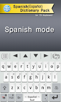 Screenshot of Spanish for TS Keyboard