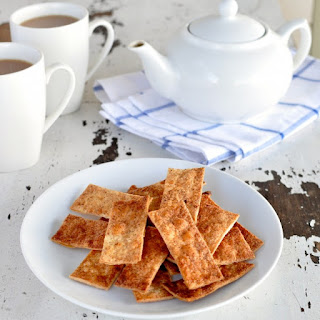 Cinnamon Sugar Tortilla Crisps