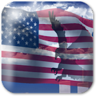 USA Eagle Live Wallpaper icon