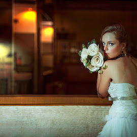 Waiting for You by Amin Basyir Supatra - Wedding Bride ( love, pose, bali, concept, wedding, bride )