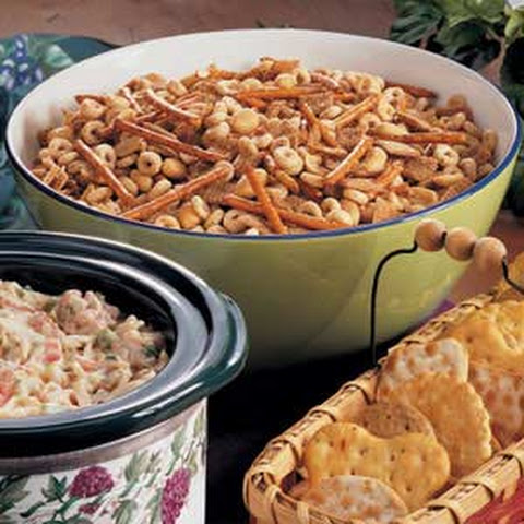 Slow Cooker Party Mix