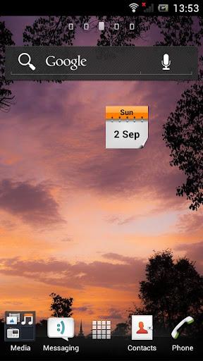 Current Date Widget