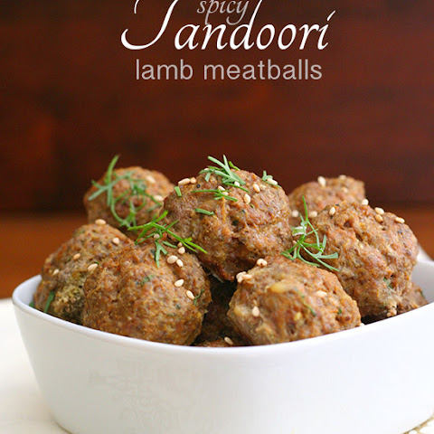 Spicy Tandoori Lamb Meatballs