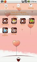 Screenshot of My Valentine GO Launcher Theme