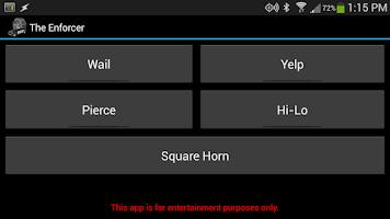 Screenshot of The Enforcer