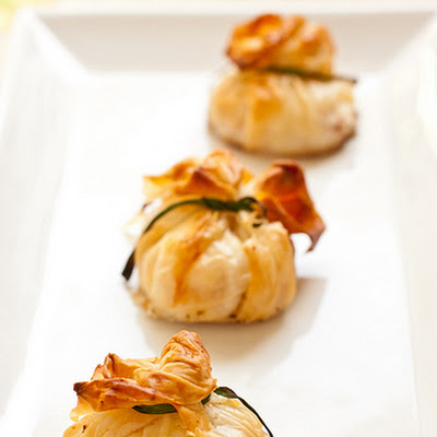 Goat Cheese Phyllo Purses