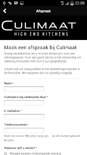 Culimaat High End Kitchens - screenshot
