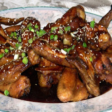 Wicked Barbecued Chicken Wings (Crock Pot)