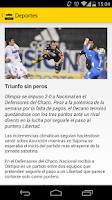 Screenshot of ABC Deportes