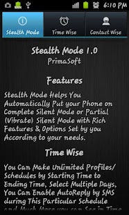Stealth Mode Pro - screenshot