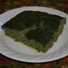 Baked Tofu and Spinach