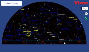 Screenshot of Comet Book