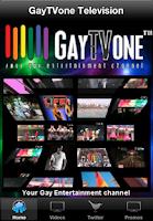 Screenshot of GayTVone