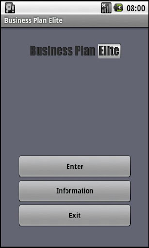 Business Plan PDF Word