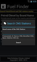 Screenshot of Fuel Finder Pakistan