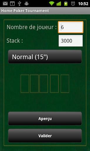 Home Poker Tournament
