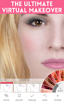 Screenshot of Virtual Makeover