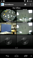 Screenshot of NETGEAR ReadyNAS Surveillance
