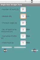 Screenshot of Gear Design