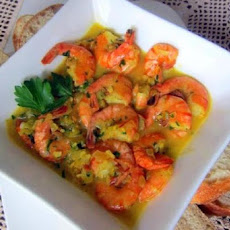 Beer Steamed Shrimp With Garlic Butter