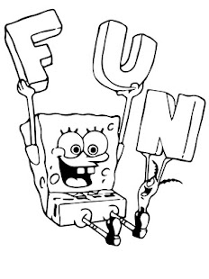 Finn Squarepants Kids Coloring - screenshot