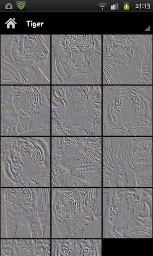 動物浮雕牆紙
