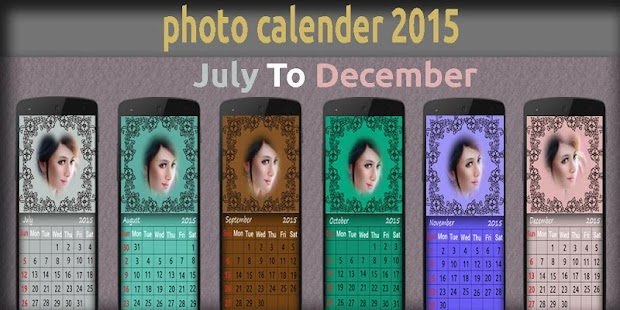 My Photo Calender - screenshot