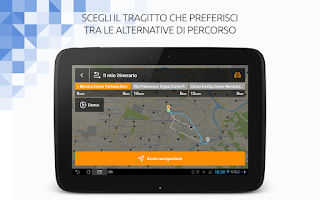 Screenshot of TuttoCittà NAV Italia Off-Line
