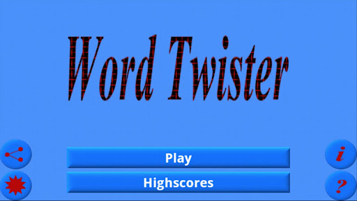 Word Twister Indian Edition