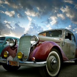 Vintage Car by Lux Aeterna - Transportation Automobiles