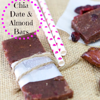 Chia Date & Almond Bar