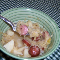 Bratwurst and Sauerkraut Supper