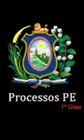 Screenshot of Processos PE - 1º Grau