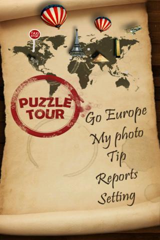 PuzzleTour: Europe