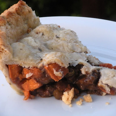 Lamb and Sweet Potato Pot Pie