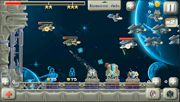 Screenshot of Deep Space Tower Defense