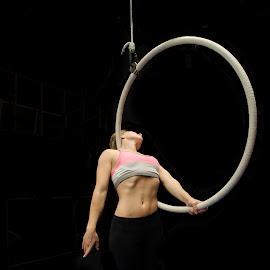 Amazon by Emmeline Downes - Sports & Fitness Other Sports ( aerial hoop, aerialist, performance, aerial, hoop, lyra, performance arts, pointed toes, circus, amazon,  )