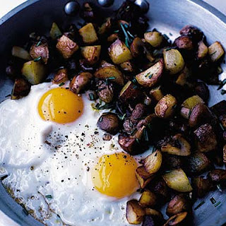 Fried Potatoes Eggs Recipes