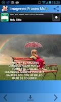Screenshot of Imagenes Frases Motivadoras