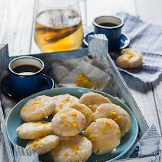 Almond And Rice Flour Lemon Cookies
