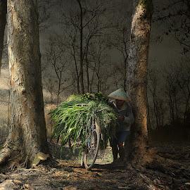 Between by Eli Supriyatno - Digital Art People
