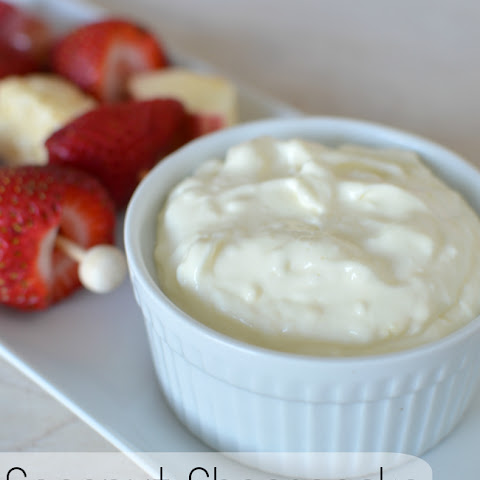 Coconut Cheesecake dip