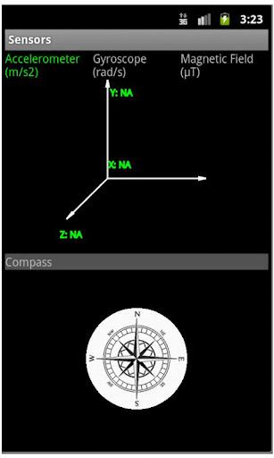 Live Sensor Compass