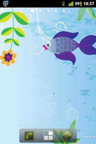 Live Wallpaper Cute Fishy Fish
