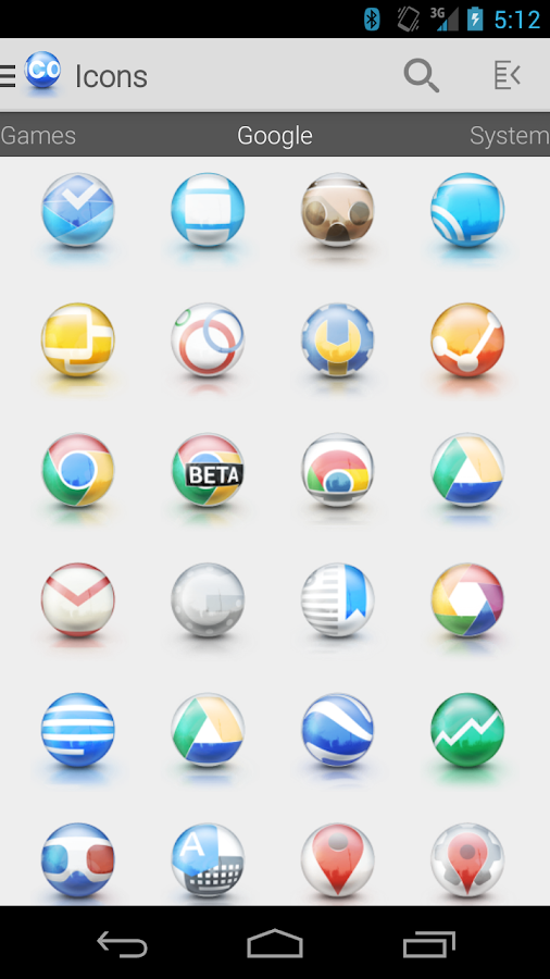 Tha Sphere - Icon Pack Screenshot 1