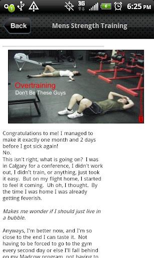 Mens Strength Training