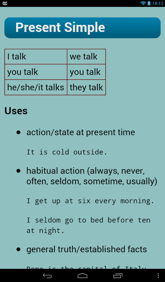 English Verbs Pro Screenshot 3