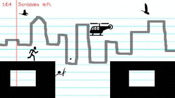 Screenshot of Stickman Rooftop Run