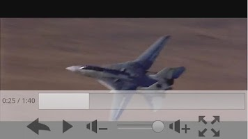 Screenshot of Simple MP4 Video Player