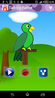 Screenshot of Animal Sounds & Talking Parrot